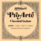 D'Addario J4506C Pro-Arte Composite Classical Guitar Single String Normal Tension Sixth String