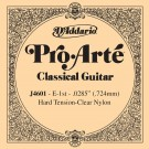 D'Addario J4601 Pro-Arte Nylon Classical Guitar Single String Hard Tension First String