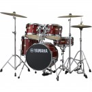 Yamaha Manu Katche Junior Drum Kit (Shell Pack) - Cranberry Red