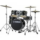 Yamaha Manu Katche Junior Drum Kit (Shell Pack) - Raven Black