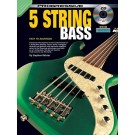 Progressive 5 String Bass Book/CD