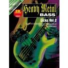 Progressive Heavy Metal Bass Licks Volume 2 Book/CD