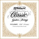 D'Addario NYL036W Silver-plated Copper Classical Single String .036