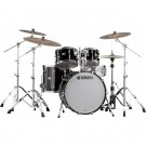 Yamaha Recording Custom Euro Drum Kit - Solid Black (Shell Pack)