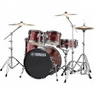 Yamaha Rydeen 5pc Fusion Drum Kit - Burgundy Glitter + FREE Stool