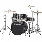 Yamaha Rydeen 5pc Fusion Drum Kit - Black Glitter + FREE Stool