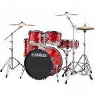 Yamaha Rydeen 5pc Fusion Drum Kit - Hot Red + FREE Stool