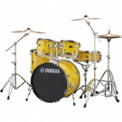 Yamaha Rydeen 5pc Fusion Drum Kit - Mellow Yellow + FREE Stool