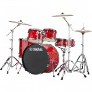 Yamaha Rydeen 5pc Euro Drum Kit - Hot Red + FREE Stool