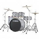 Yamaha Rydeen 5pc Euro Drum Kit - Silver Glitter + FREE Stool