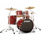 Yamaha Stage Custom Birch Fusion Drum Kit + Hardware - Cranberry Red