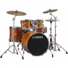 Yamaha Stage Custom Birch Euro Drum Kit + Hardware + PST5 Cymbal Pack - Honey Amber