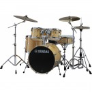 Yamaha Stage Custom Birch Euro Drum Kit + Hardware + PST5 Cymbal Pack - Natural Wood
