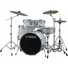 Yamaha Stage Custom Birch Euro Drum Kit + Hardware - Pure White