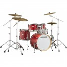 Yamaha Tour Custom Fusion Drum Kit + Hardware - Candy Apple Satin