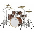 Yamaha Tour Custom Euro Drum Kit + Hardware - Chocolate Satin