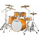 Yamaha Tour Custom Euro Drum Kit + Hardware - Caramel Satin
