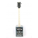 JHS BG15MSH Bohemian Oil Can Guitar in Moonshine with Case