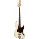 Fender American Original '60s Jazz Bass with Rosewood Neck in Olympic White