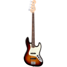 Fender American Professional Jazz Bass with Rosewood Neck in 3-Colour Sunburst