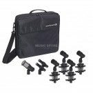 Beyerdynamic TG Drum Set PRO M 7 Piece Microphone Pack