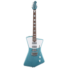 Music Man - Ball Family Reserve (BFR) St Vincent Electric Guitar in Turquoise Crush in deluxe case