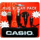 Casio Plug and Play Pack USB & Stereo Cable