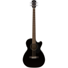 Fender CB-60SCE Acoustic Bass Guitar - Black
