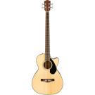 Fender CB-60SCE Acoustic Bass Guitar - Natural