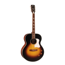 Cort CJ Retro Jumbo Electric Acoustic Guitar in Matte Vintage Sunburst
