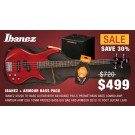 Ibanez SR200 Bass Pack Red