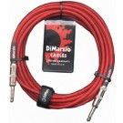 DiMarzio EP1718R 18ft Premium Guitar Lead - Red