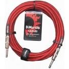 DiMarzio EP1718R 18ft Premium Guitar Lead - Red