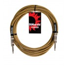DiMarzio EP1718VT 18ft Premium Guitar Lead - Vintage Tweed