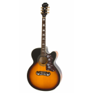 Epiphone - EJ200SCE Acoustic Electric Guitar in Vintage Sunburst