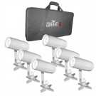 Chauvet EZpin Pack Pinsopt Lights with Case
