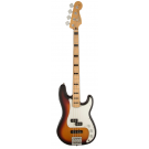 Fender Limited Edition Deluxe PJ Bass with Maple Neck in 3-Colour Sunburst