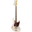 Fender Flea Jazz Bass - Roadworn Faded Shell Pink