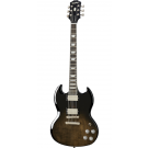 Epiphone SG Modern Figured Electric Guitar in Trans Black Fade