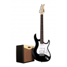 Cort G110 Electric Guitar Pack with CM15R Amp - Black + Free Lead and Picks!