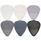 Dunlop USA Nylon .88mm Picks 6 Pack