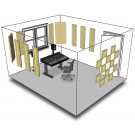 Primacoustic London 12 Room Kit Beige