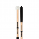 ProMark ATH2S Hickory Shaft Hickory Shaft Puff Cover on Felt Head Tenor Mallet