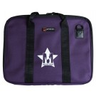 Protec Music Portfolio Bag with Shoulder Strap and Musos Corner Logo - Purple