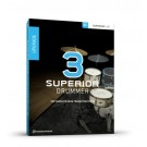 Toontrack Software Superior Drummer 3 Cross Grade from EZDrummer 2(Serial Only)