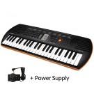 SA76 44 Note Mini Keyboard + Casio Power Supply