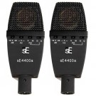 SE Microphones SE4400A Condensor Microphones Stereo Matched Pair