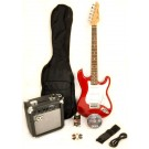 SX 3/4 Size Electric Guitar Kit - Candy Apple Red