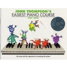Easiest Piano Course Part 3 BK/CD by John Thompson