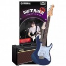 Yamaha Gigmaker 10 Electric Guitar Pack - Dark Blue Metallic
